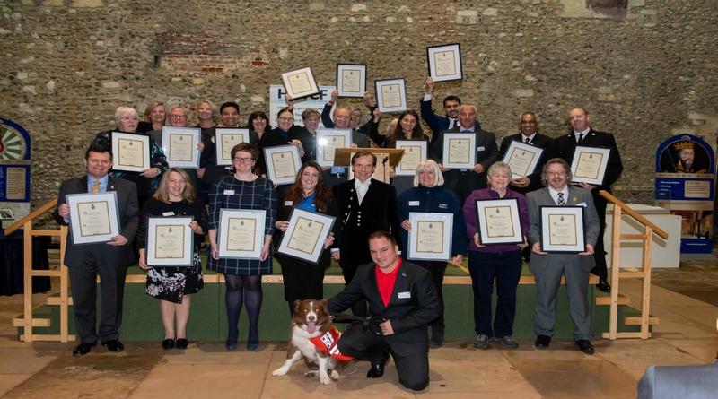 The High Sheriff Community Award Winners