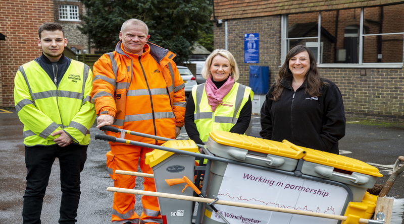 Winchester City Council backs district litter heroes in Great British Spring Clean