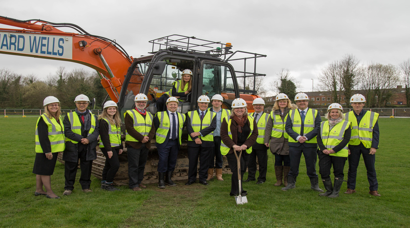 Work starts on site for Winchester's new Sport & Leisure Centre