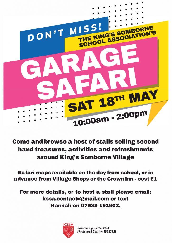 King's Somborne Garage Safari May 2019