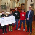Last year, Youth of Abbey United Reformed Church raise funds for charity Mercy Ships