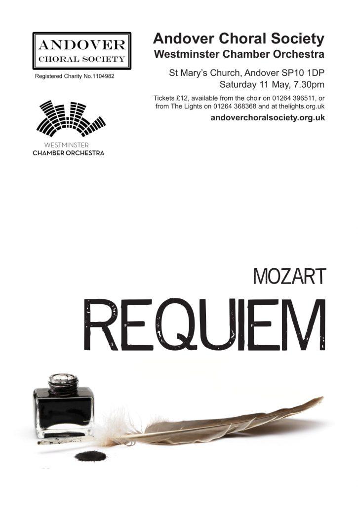 Andover Choral Society present Mozart's Requiem