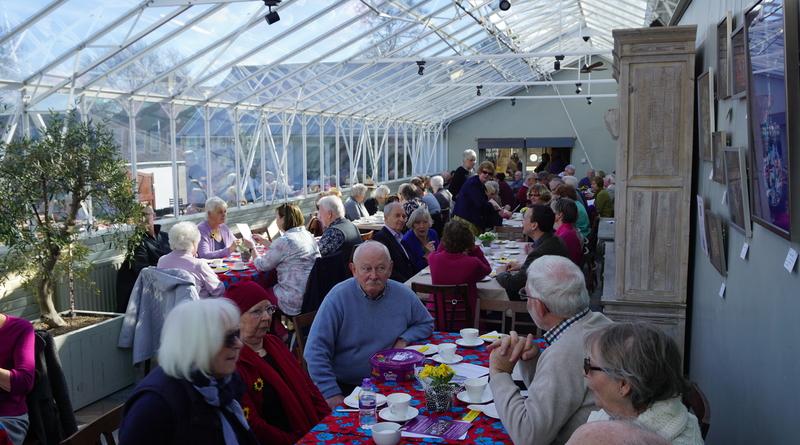 Sparkling tea raises £1700 for Andover's hospice