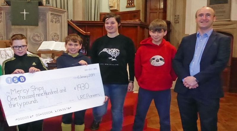 Youth of Abbey United Reformed Church raise funds for charity Mercy Ships