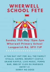 Wherwell School Fete