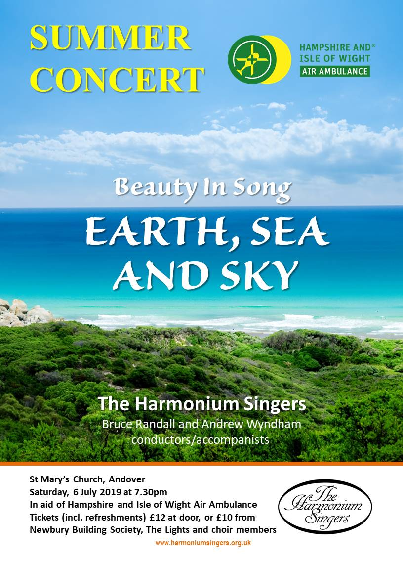The HARMONIUM SINGERS Summer Concert - In aid of HIOWAA