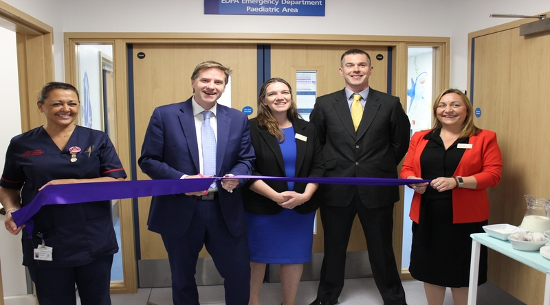 New emergency department facilities open at Royal Hampshire County Hospital
