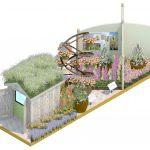 Sparsholt College RHS Chelsea Flower Show artist impression