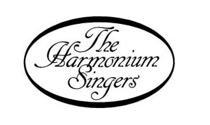 Logo. The Harmonium Singers