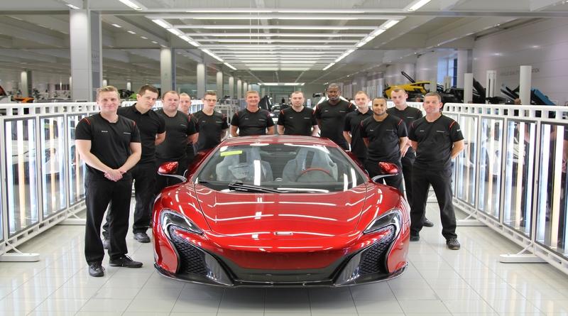 2013 in McLaren with my team
