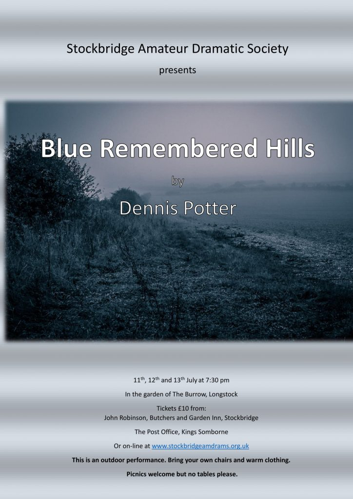 Blue Remembered poster