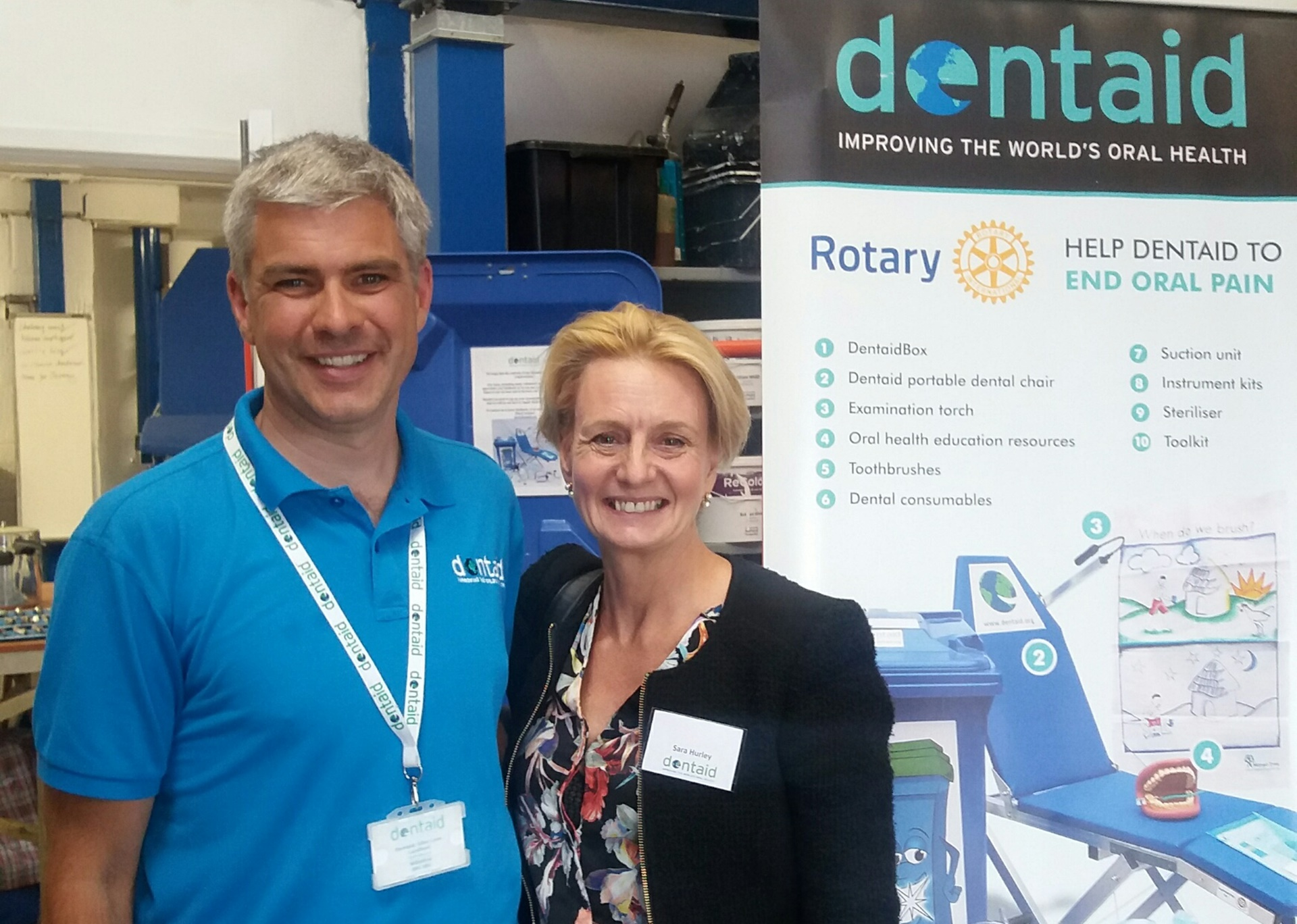 Dentaid Dental Charity moves to Totton