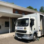 Dentaid mobile dental at Trinity House drop-in centre
