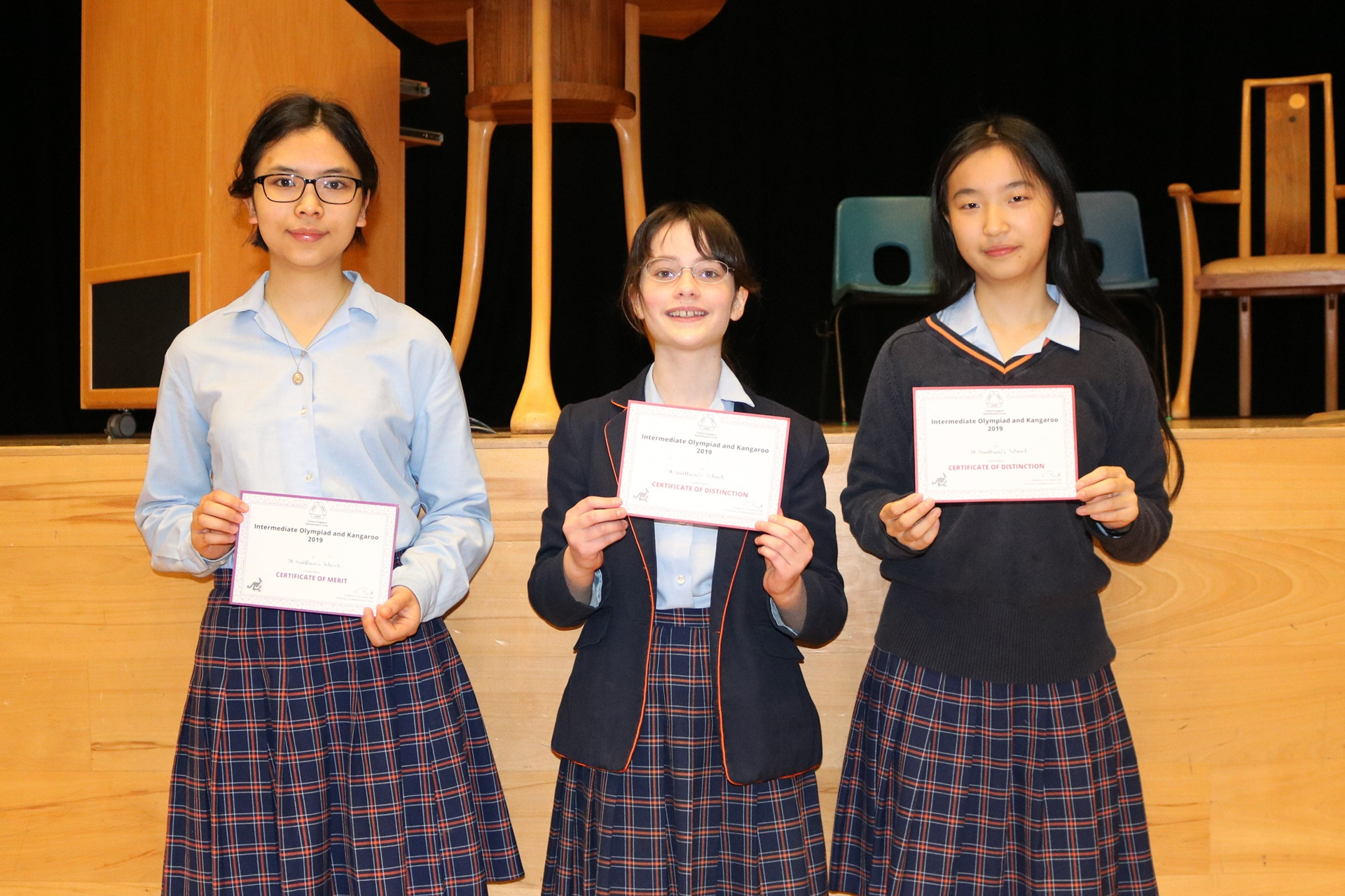 St Swithun's Maths Olympiad success 2019