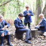 Stroud School wins Award for Outside Learning