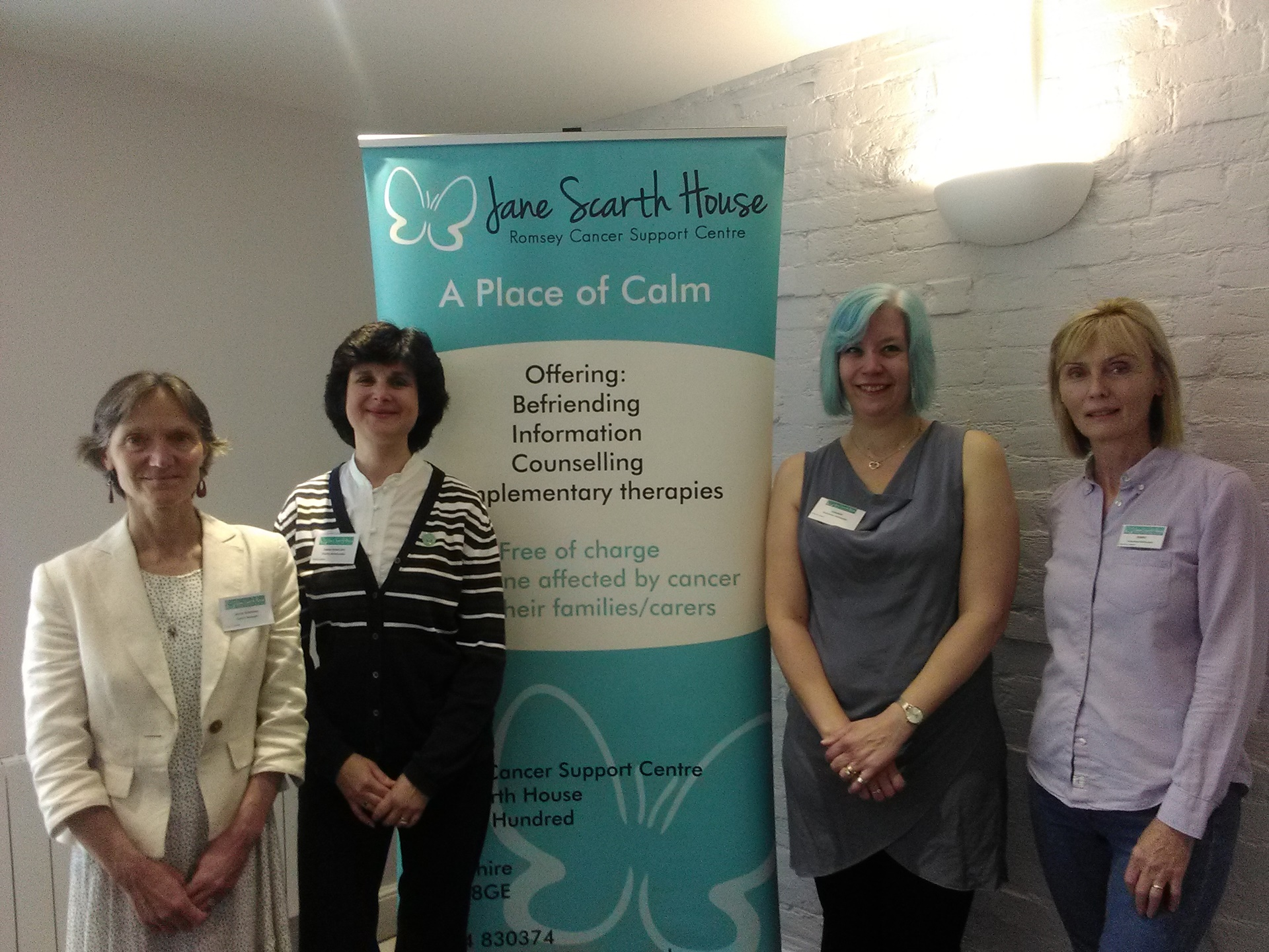 The Team at Jane Scarth House