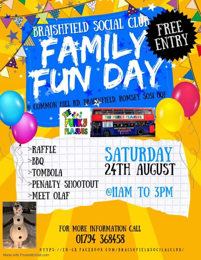 Braishfield Family Fun Day