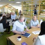 Aster Group UK staff at Innovation Cafe Andover