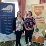 Katie Brooks and Lisa Huddleston at the Pride of Andover Awards 2019 launch