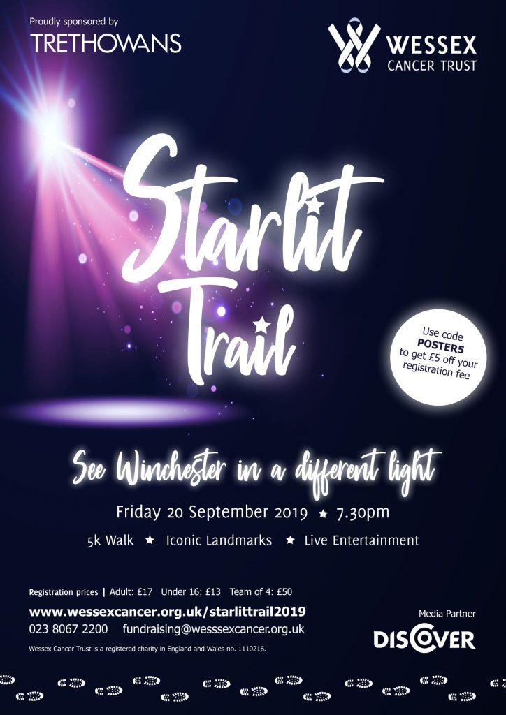 Wessex Cancer Trust Starlit trail