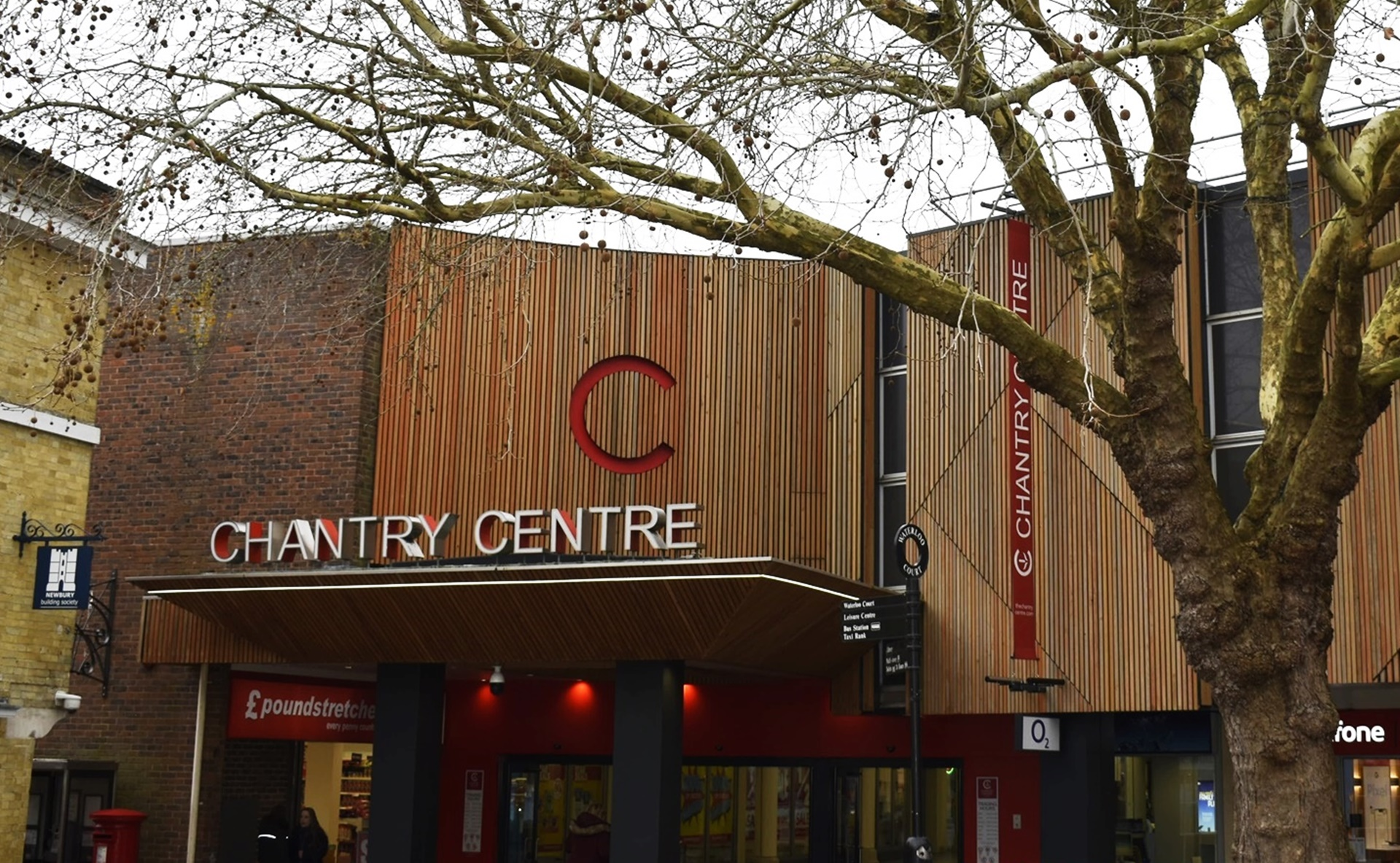 The Chantry Centre. Andover