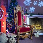 Christmas At Marwell - Santa's chair.