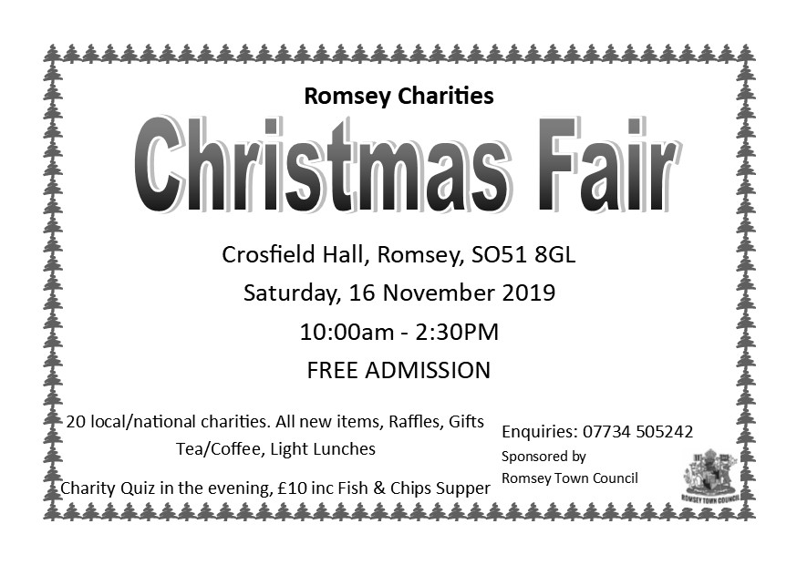 Romsey Charities Christmas Fair 2019