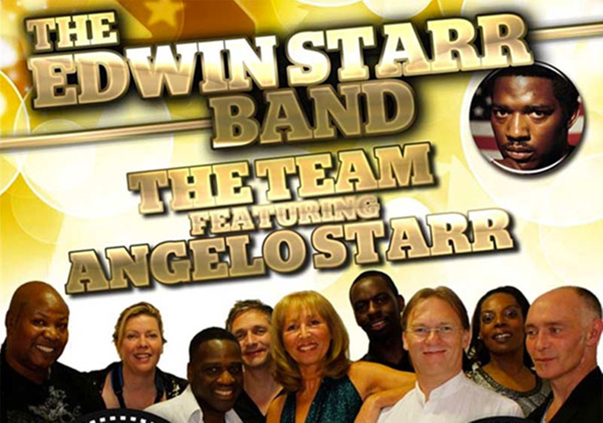 Edwin Starr's Band The Team featuring Angelo Starr at The Concorde Club