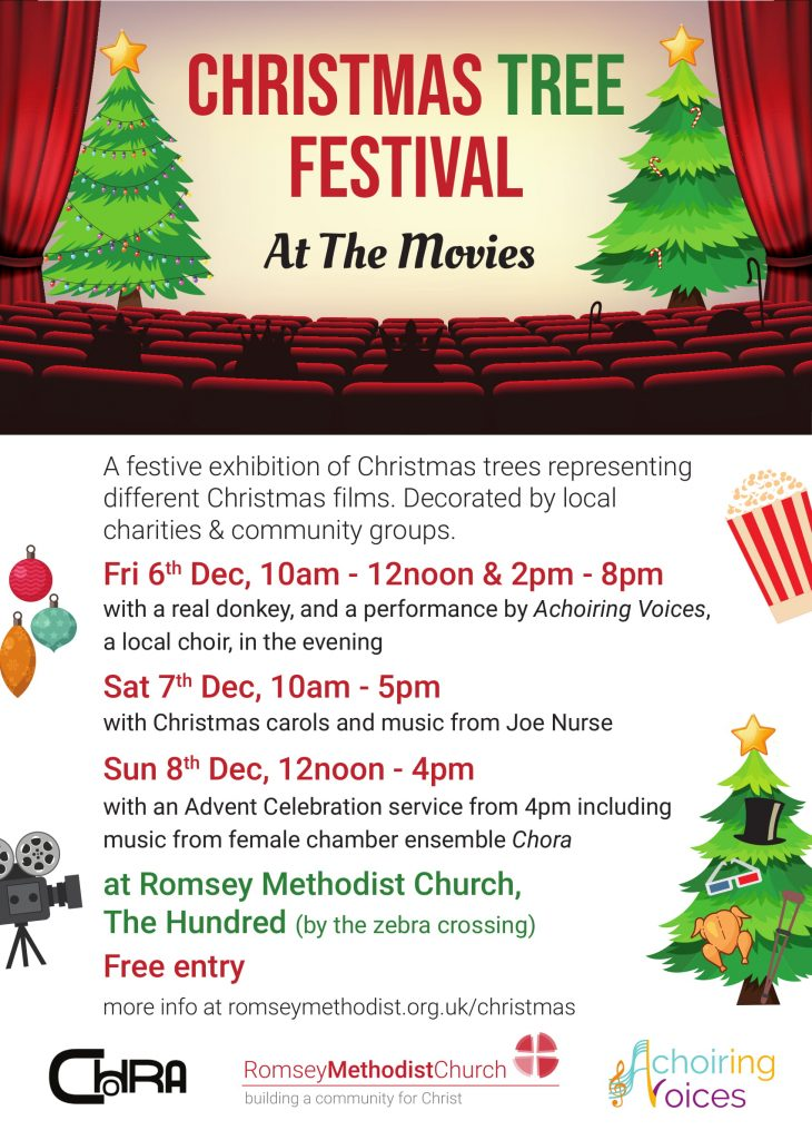 Romsey Methodist Church Christmas Tree Festival