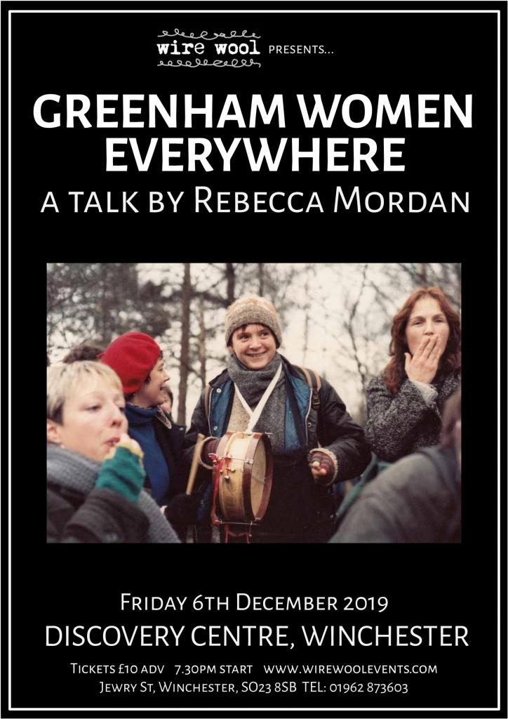 Greenham Women Everywhere: a talk by Rebecca Mordan