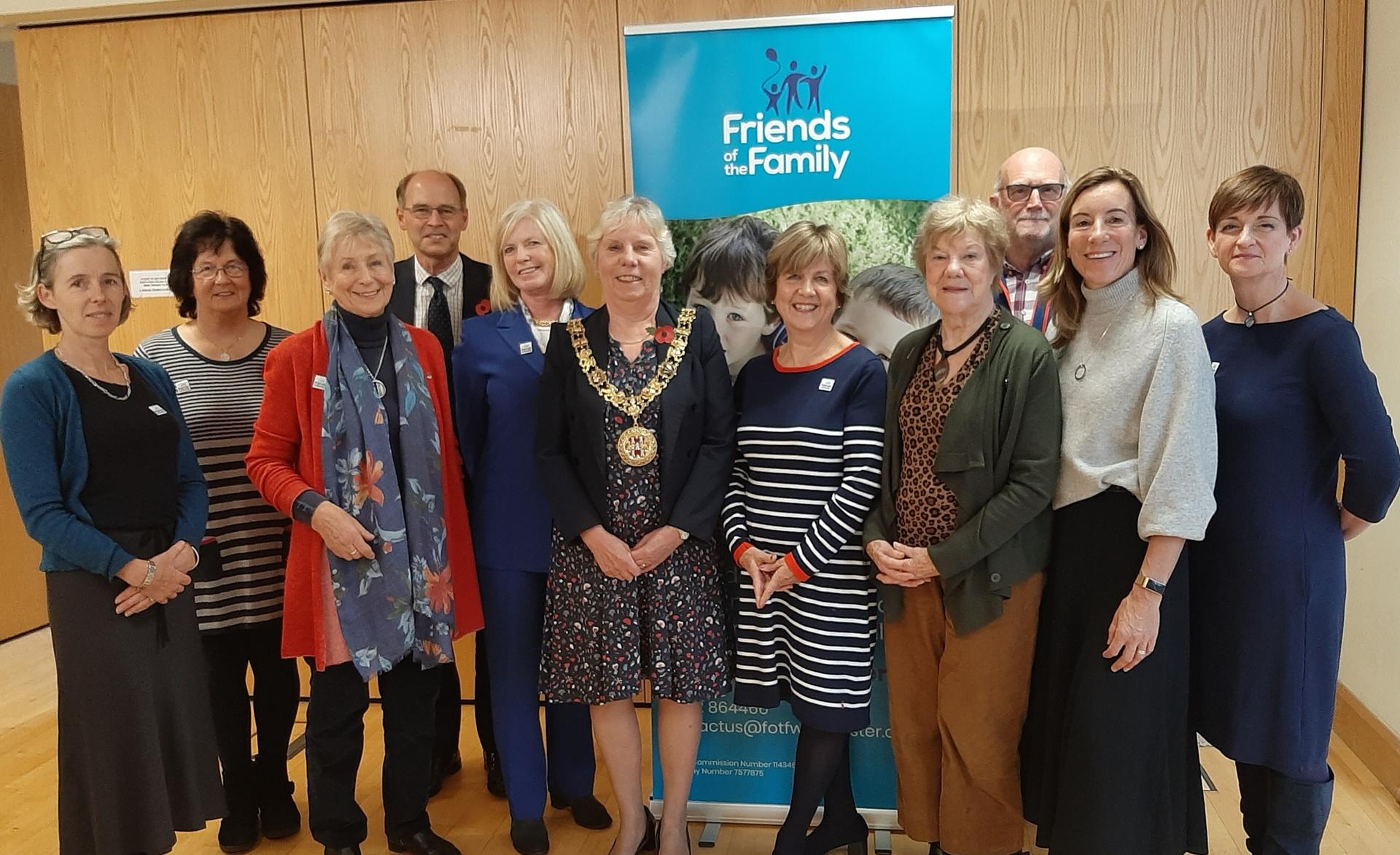 Mayor of Winchester, trustees & staff