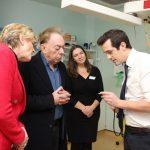 ALW visit - Dr Storrar (R)
