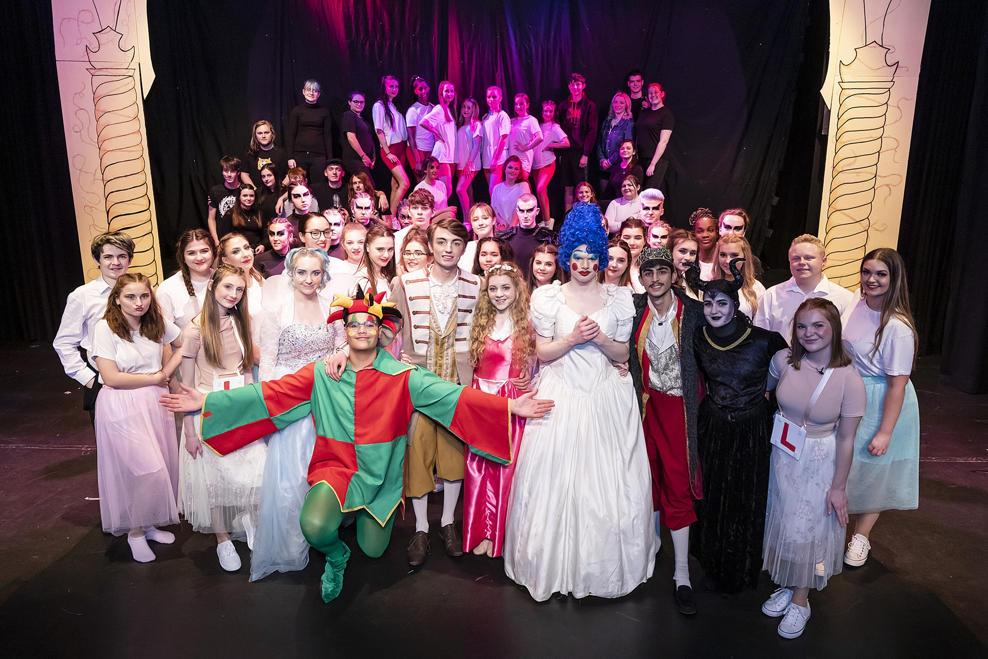 Andover College's pantomime Sleeping Beauty