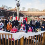 Father Christmas pays flying visit to children and families at hospice