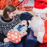Father Christmas pays flying visit to children and families at hospice 13