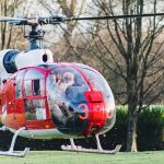 Father Christmas pays flying visit to children and families at hospice 4