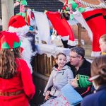 Father Christmas pays flying visit to children and families at hospice 7