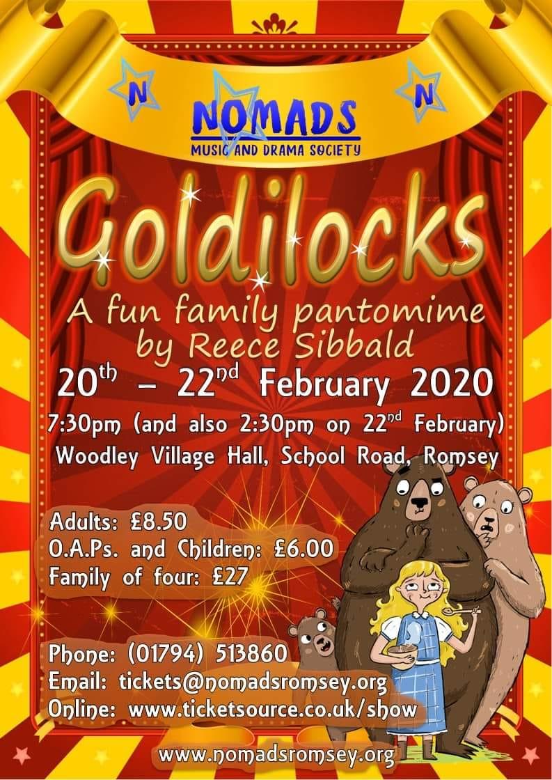 Nomads of Romsey Goldilocks