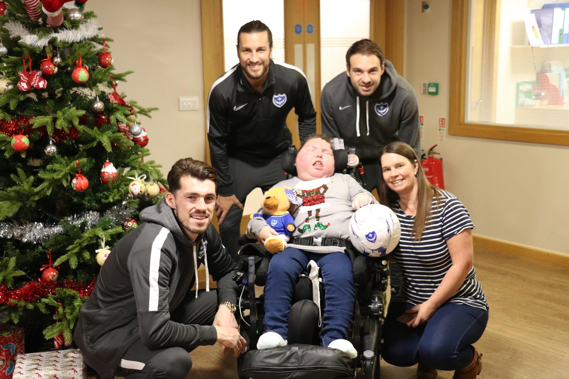 Pompey Football Club visit NH & Jacksplace