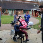 Pompey Football Club visit Naomi House & Jacksplace 4