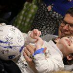 Pompey Football Club visit Naomi House & Jacksplace 1