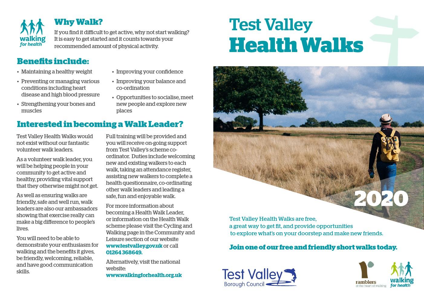 Andover & Romsey Health Walks 2020
