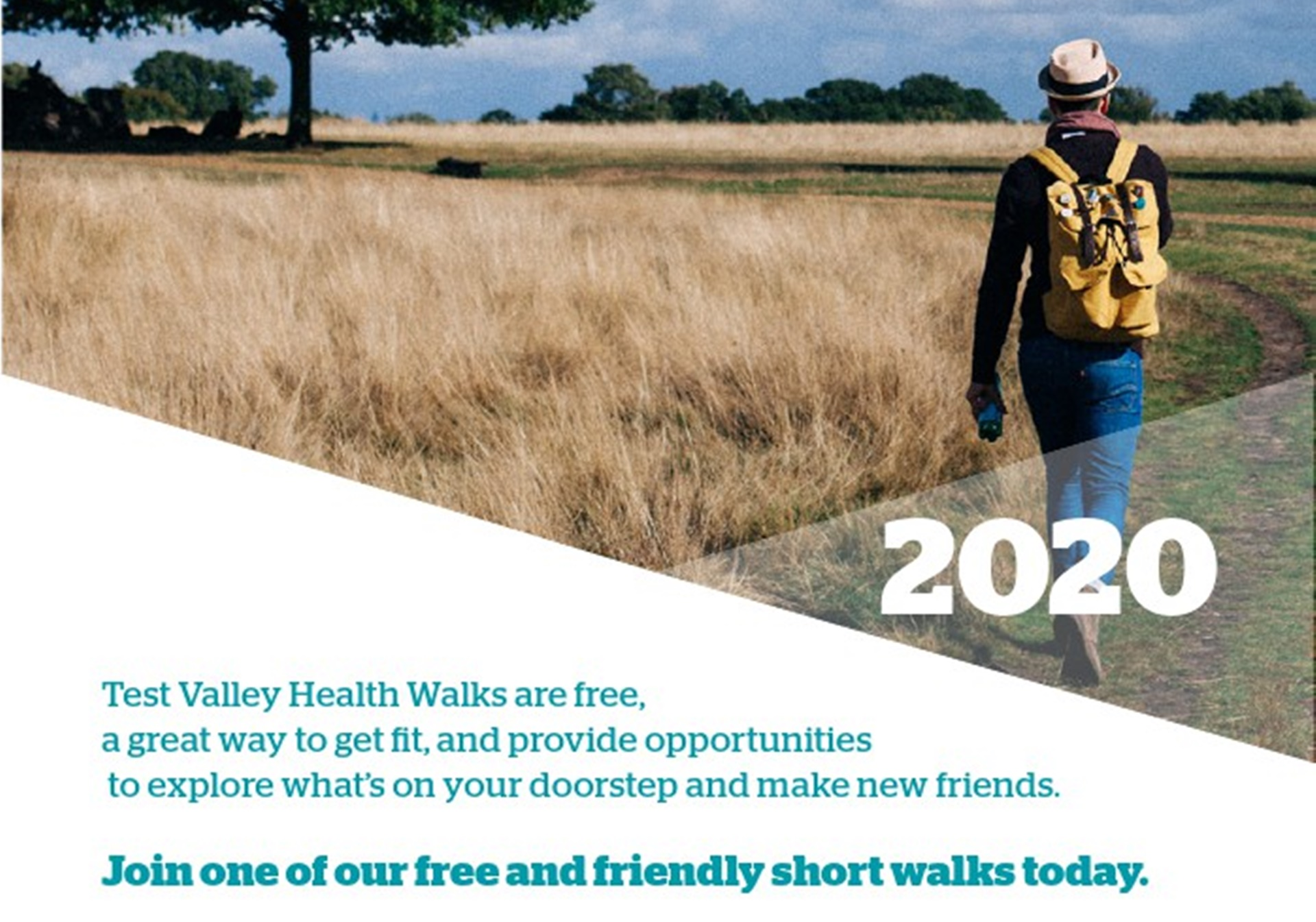 Andover Romsey Health Walks 2020