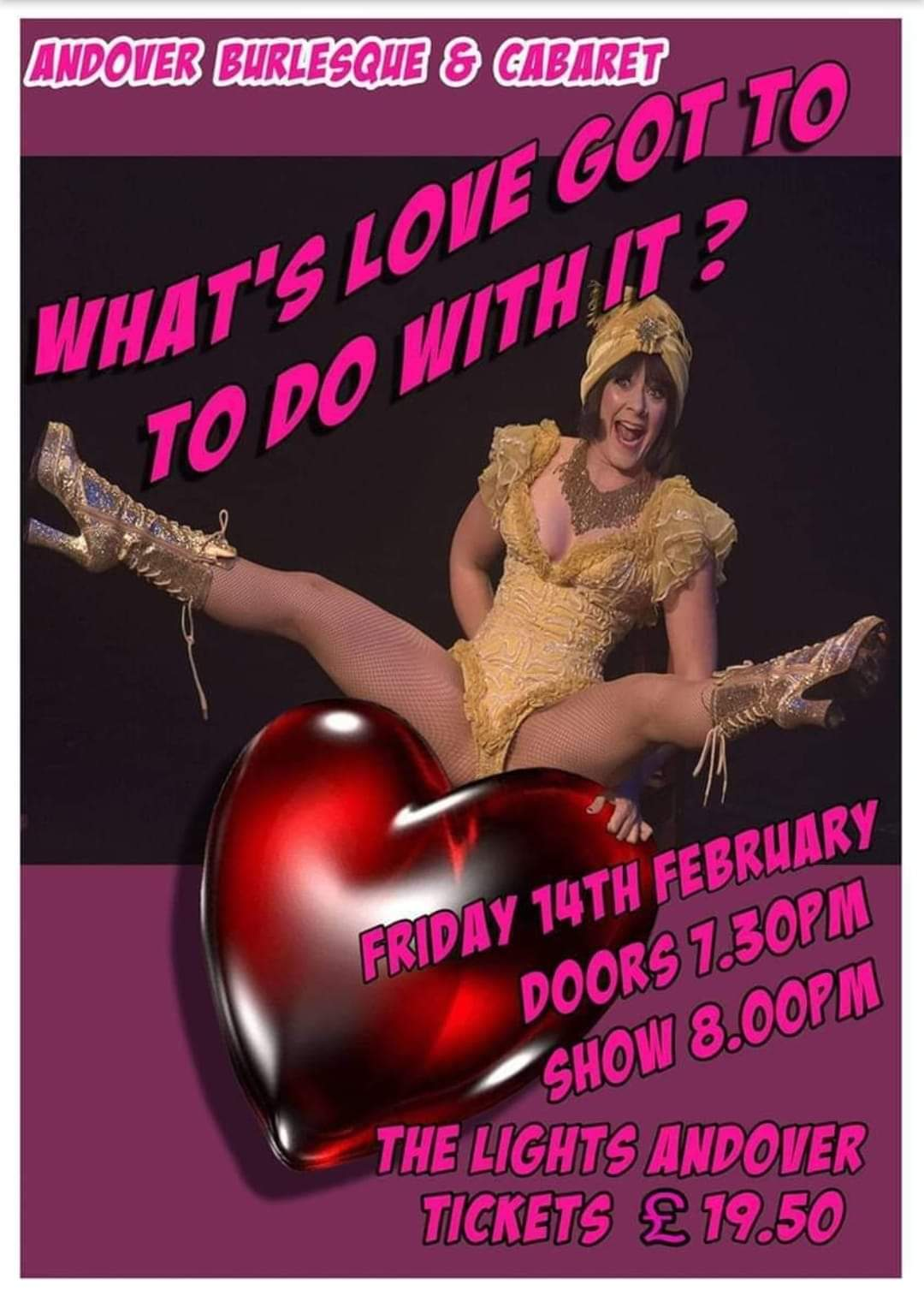 "Andover Burlesque and Cabaret: ""What's Love Got To Do With It?"""