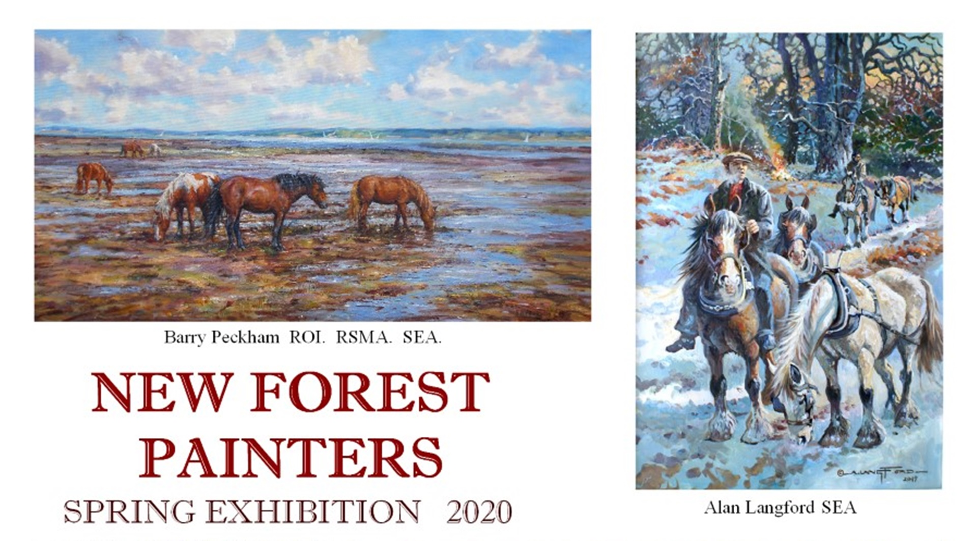 New Forest Painters - Spring Exhibition 2020
