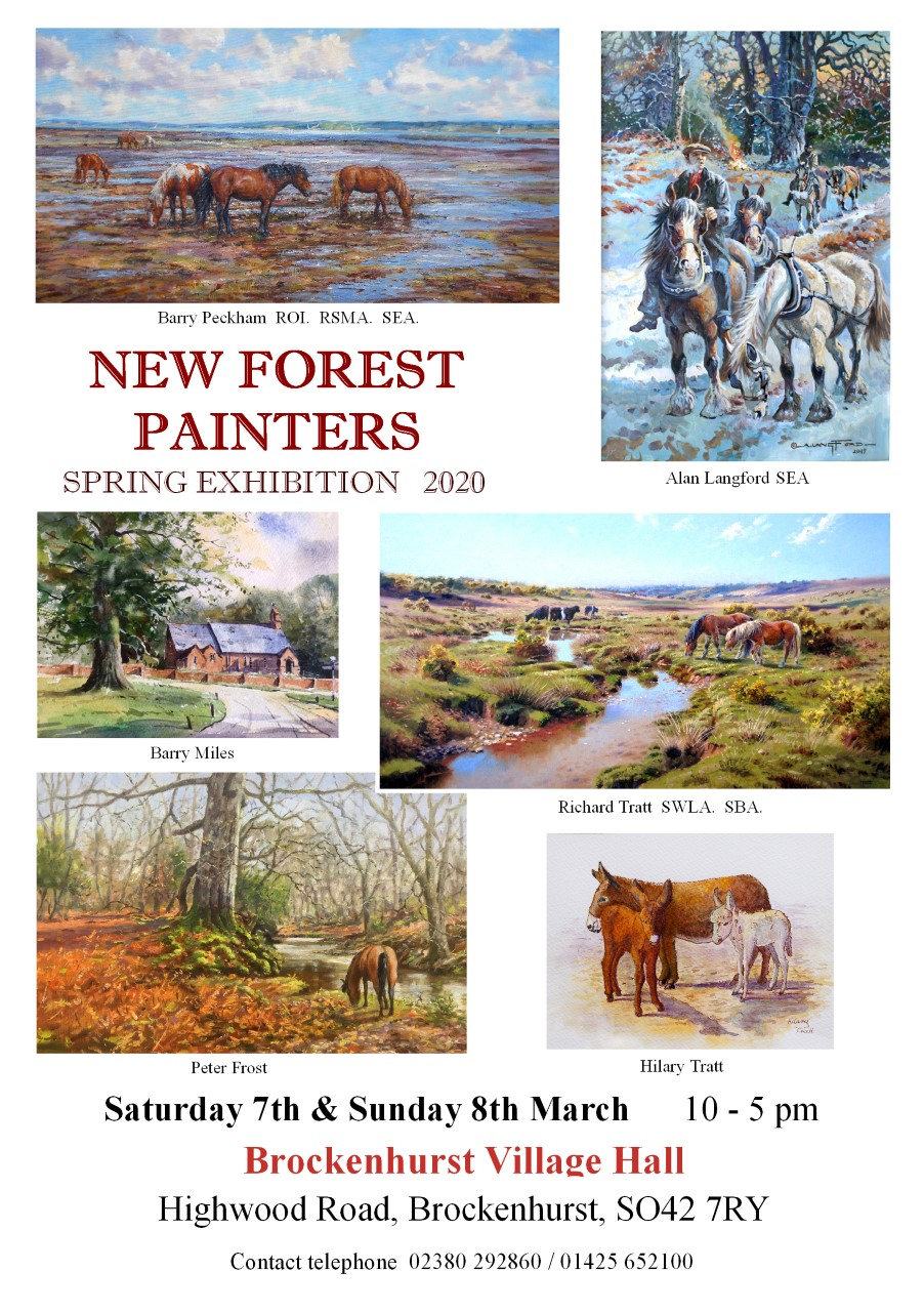 New Forest Painters Spring Exhibition 2020