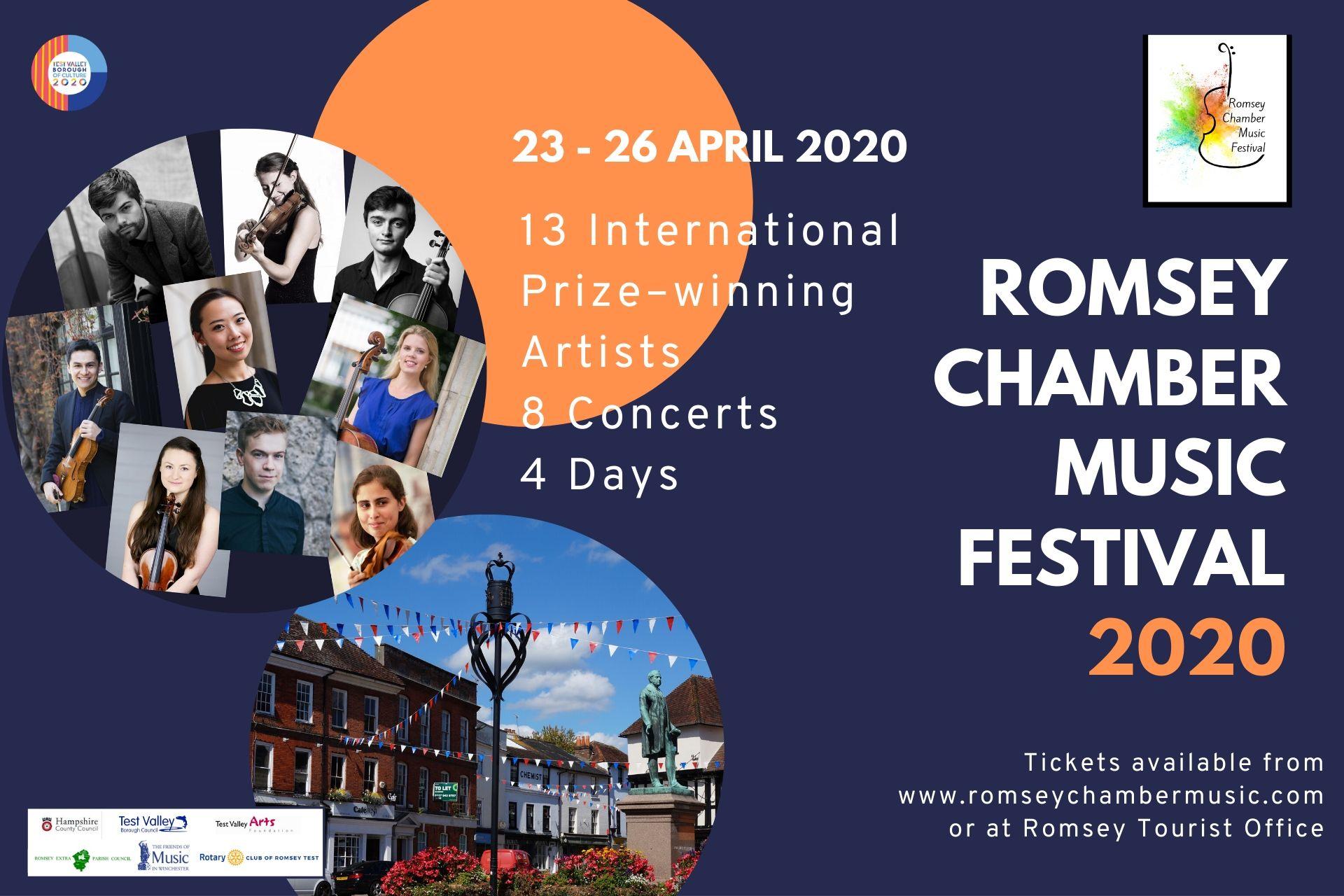 Romsey Chamber Music Festival 2020!