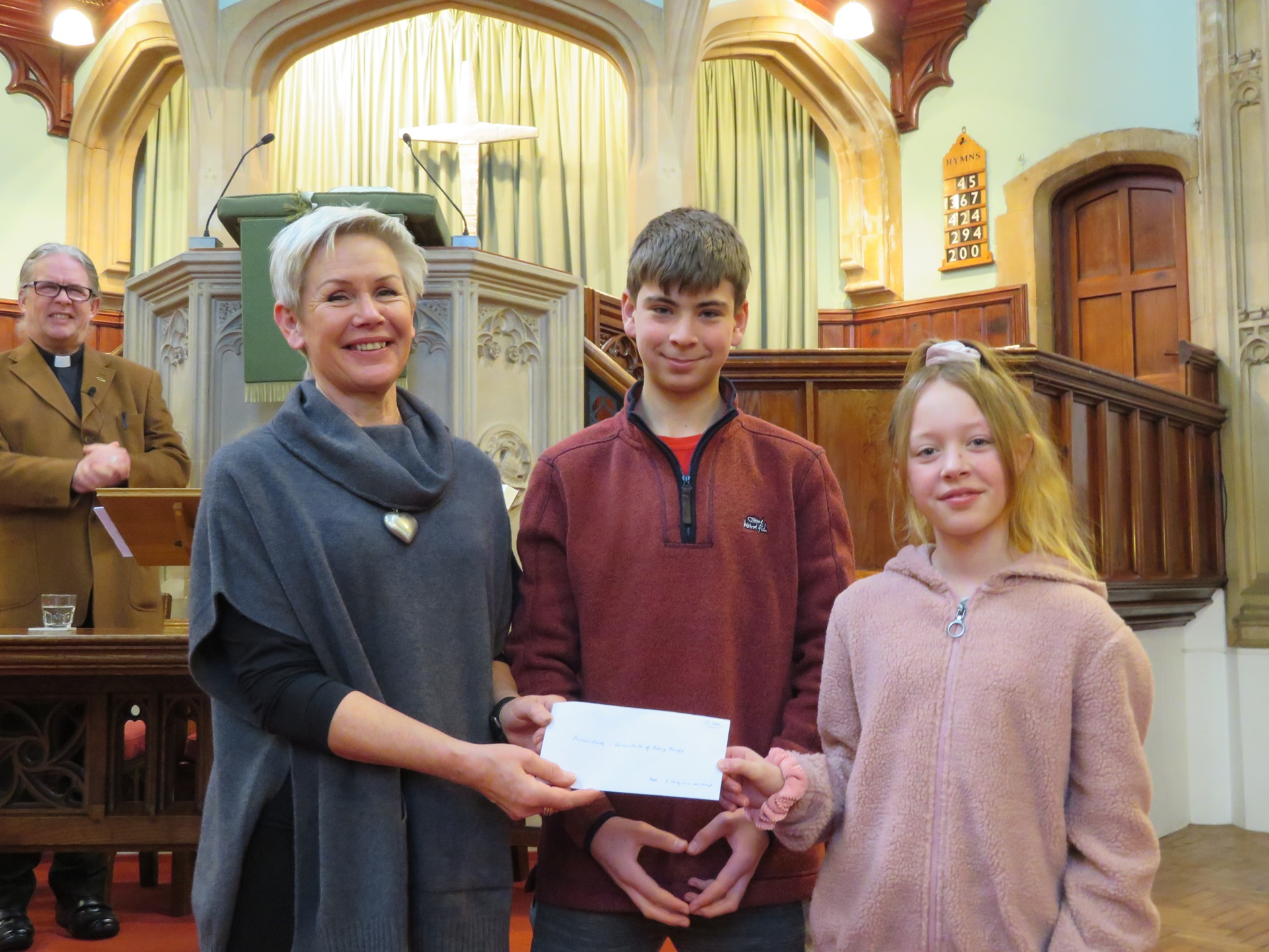 Abbey United Reformed Church raise over 2K for Fortune Centre of Riding Therapy