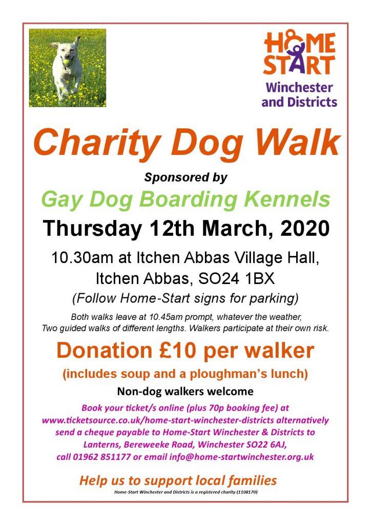 Dog Walk Poster 2020