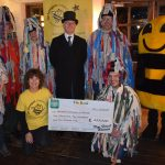 New Forest Mummers Cheque Presentation